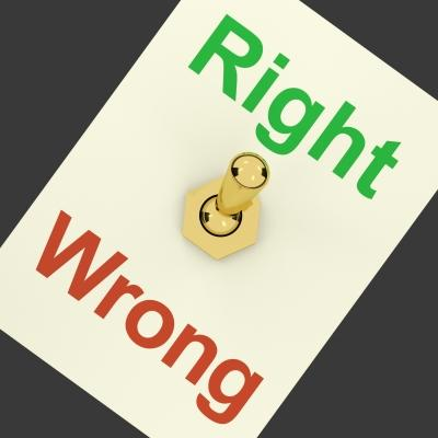 right and wrong by stuart miles and freedigitalphotos.net.jpg