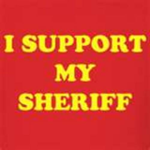 I support my sheriff
