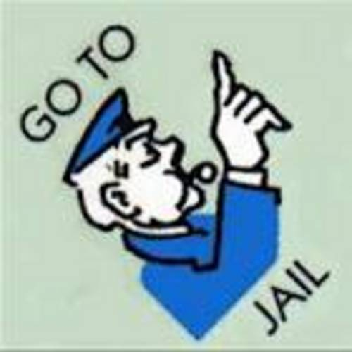 go to jail sign
